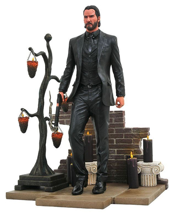 Diamond Select Toys - John Wick Chapter 2 - John Wick Gallery PVC Statue