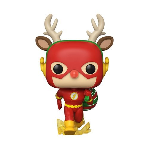 Funko POP! Heroes - DC Superheroes - Holiday Rudolph Flash Vinyl Figure
