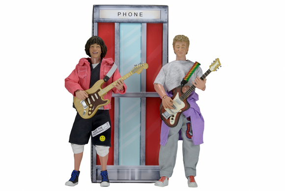 NECA Bill and Ted's Excellent Adventure - Wyld Stallyns Clothed Action Figure Box Set