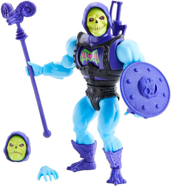 MOTU Masters of the Universe Origins - Deluxe Battle Armor Skeletor Action Figure