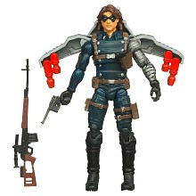 Captain America Movie 4 Inch Series 1 Winter Soldier