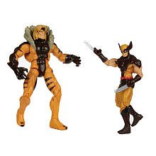 Marvel Universe XMen First Class 2Pack Wolverine Sabretooth