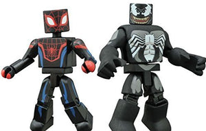 Minimates Marvel Ultimate Spider-Man Web Warriors Miles Morales and Venom