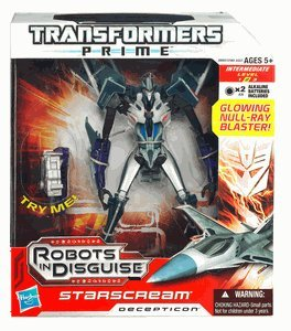 Transformers Prime Robots in Disguise Voyager Class Series 1 - Starscream