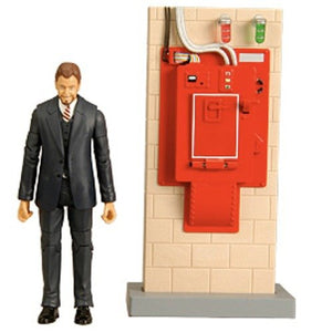 Mattel Ghostbusters Walter Peck with Contamination Unit