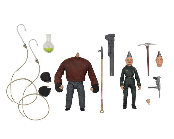 "NECA Puppet Master – 7"" Scale Action Figure – Pinhead & Tunneler 2 Pack"