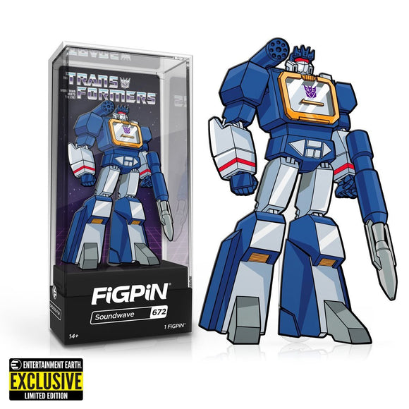 FigPin - Transformers - G1 Soundwave Classic Enamel Pin Exclusive