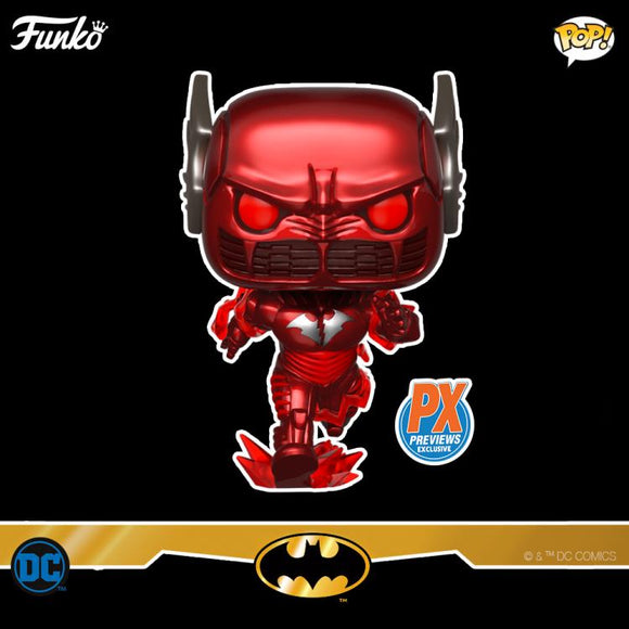 Funko POP! Heroes - PX Exclusive Dark Nights: Metal - Batman Red Death
