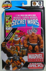 Marvel Universe Comic Packs: Bulldozer and The Thing