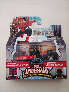 Ultimate Spider-Man 2099 & Ultimate Agent Venom diamond select minimates exclusive