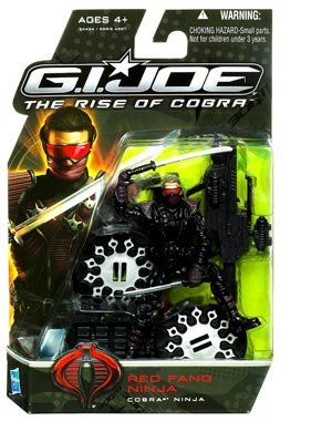 G.I. Joe Rise of Cobra Red Fang Ninja