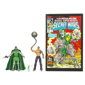 Marvel 25th Anniversary Comic 2 Pack Absorbing Man And Dr Doom