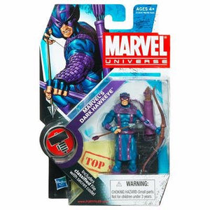 Marvel Universe 3 3/4 Inch Series 11 #31 Marvels Dark Hawkeye D...