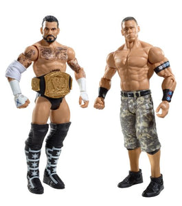 WWE CM Punk and John Cena 2-Pack Series 17