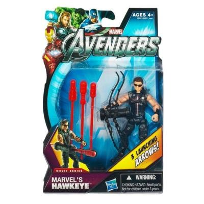 Marvel The Avengers Movie 4 Inch Marvels Hawkeye Sunglasses 3 Launching Arrows!