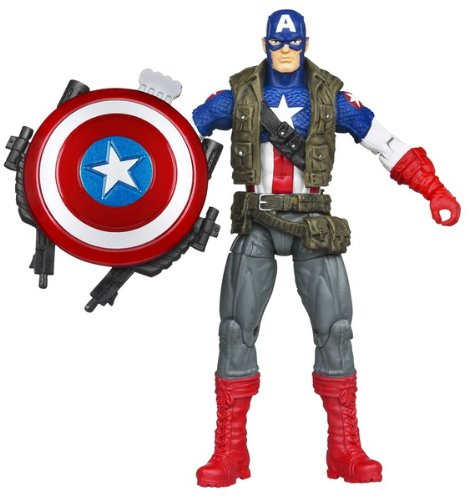 Marvel The Avengers Movie 4 Inch Super Shield Captain America