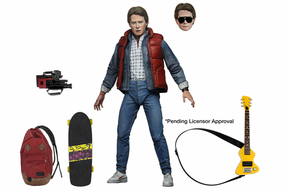 NECA Back to the Future  - 7″ Scale Action Figure – Ultimate Marty McFly