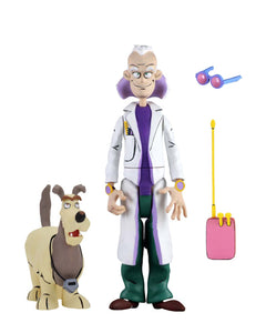 NECA Back to the Future  - 6″ Scale Action Figure – Toony Classics Doc Brown