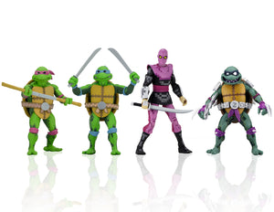 "NECA TMNT: Turtles in Time – 7"" Scale Action Figures – Series 1 - Set of 4"