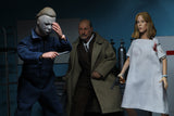 "NECA Halloween 2 (1981) – 8"" Clothed Action Figure – Dr. Loomis & Laurie Strode 2 Pack"
