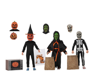NECA Halloween III: Season of the Witch – Shamrock Trick-or-Treaters Set