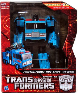 Transformers Generations GDO Voyager Class Protectobot Hot Spot