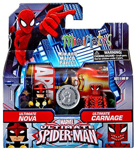 Minimates- Ultimate Spider-Man: Ultimate Nova & Ultimate Carnage
