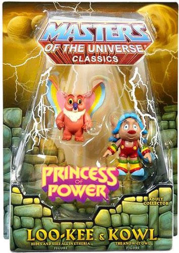 He-Man Masters of the Universe Classics Exclusive Set Loo-Kee & Kowl