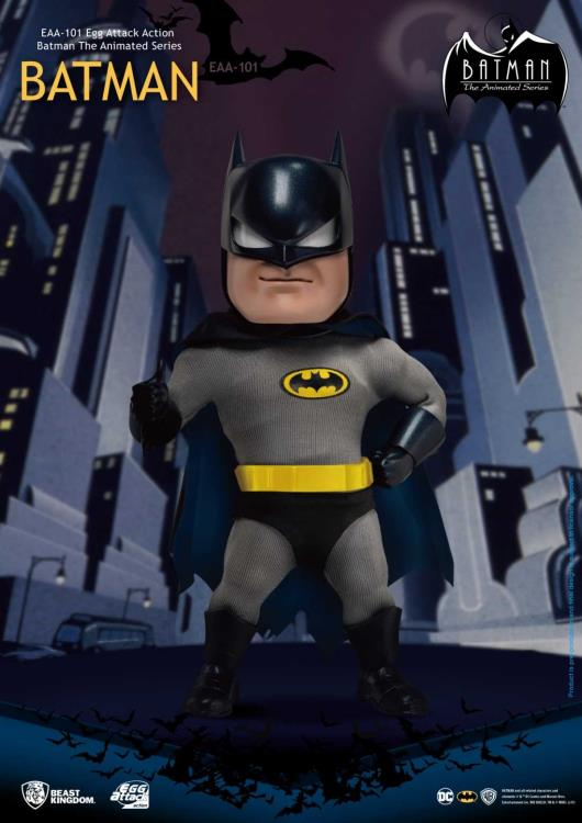 Beast Kingdom - Batman: The Animated Series-  Egg Attack Action EAA-101 - Batman (PX Previews Exclusive)