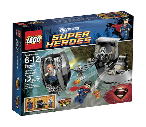 LEGO 76009 DC Universe Super Heroes Superman: Black Zero Escape