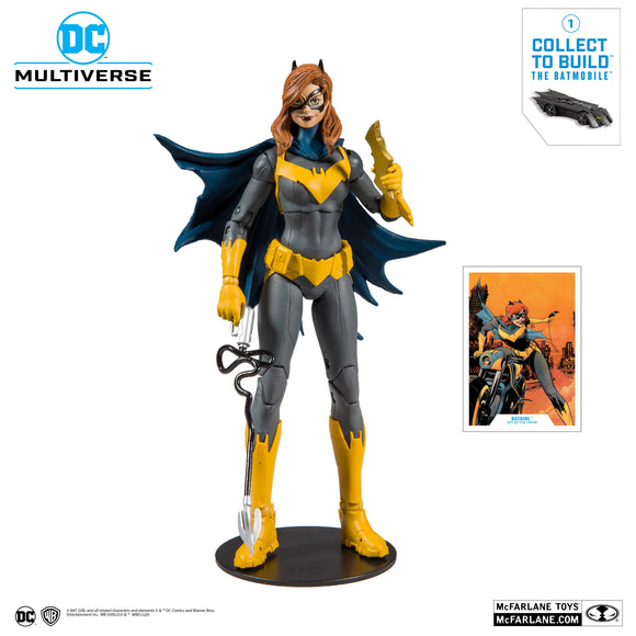McFarlane Toys - DC Multiverse - Batgirl: Art of the Crime (Build a Batmobile)