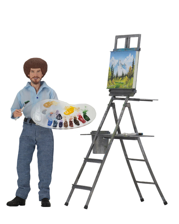 "NECA Bob Ross – 8"" Clothed Action Figure – Bob Ross"