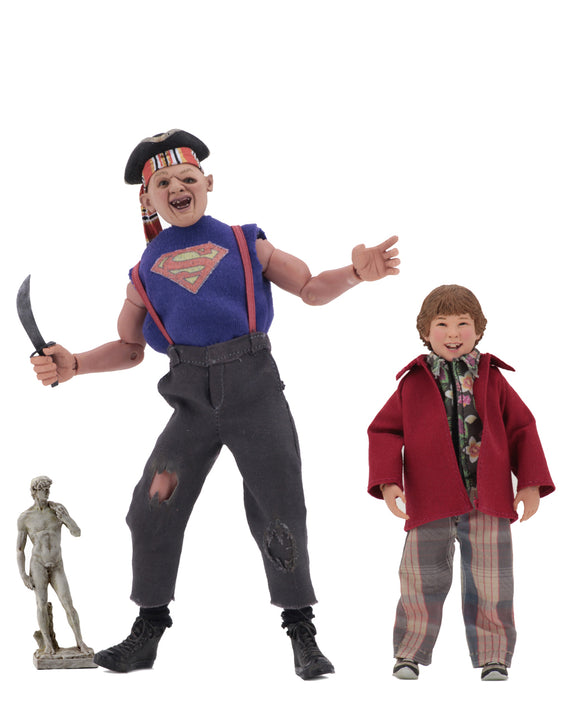 NECA The Goonies – 8″ Clothed Action Figures – Sloth and Chunk 2-Pack