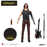 "Cyberpunk 2077 - Johnny Silverhand 7"" Scale Action Figure -"