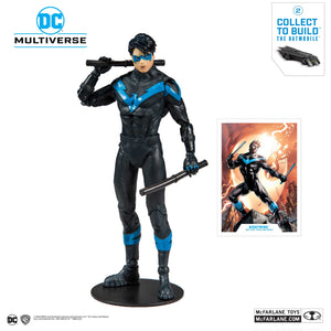 McFarlane Toys - DC Multiverse - Nightwing: Better than Batman (Build a Batmobile)