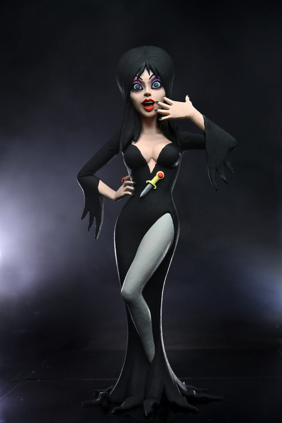 NECA Toony Terrors – 6″ Scale Action Figure – Elvira (Mistress of the Dark)