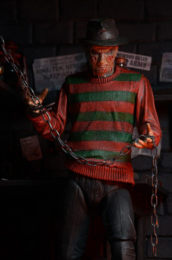 NECA A Nightmare on Elm Street – 7″ Scale Action Figure – Ultimate Freddy Krueger