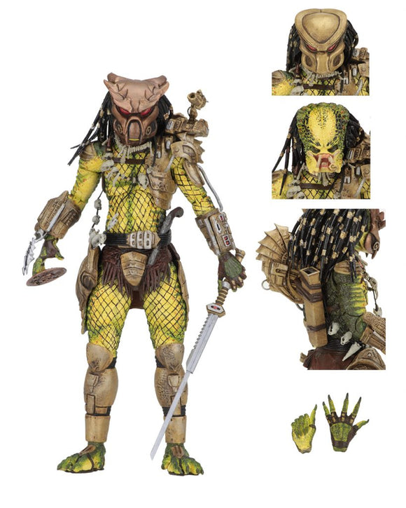 NECA Predator – 7″ Scale Action Figure – Ultimate Elder: The Golden Angel