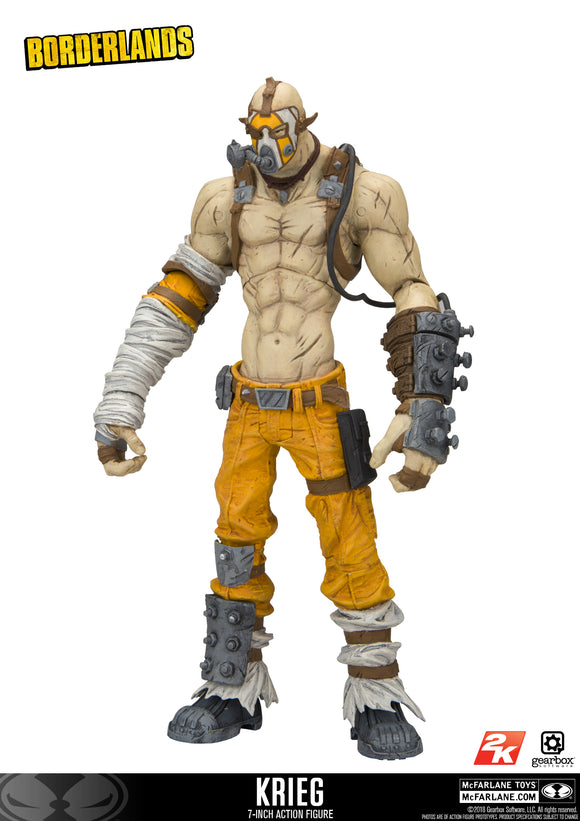 McFarlane's Borderlands - Krieg Action Figure