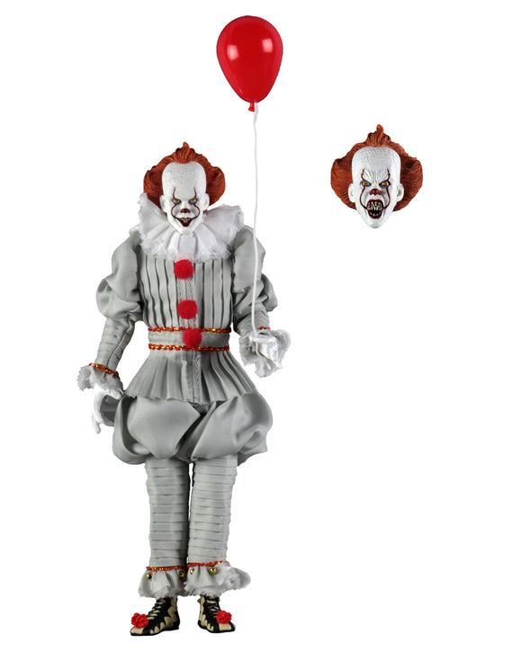 NECA IT (2017) – 8″ Clothed Action Figure – Pennywise