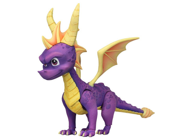"NECA Spyro – 7"" Scale Action Figure – Spyro the Dragon"