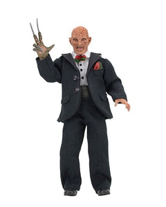 "NECA Nightmare on Elm Street Part 3 – 8"" Clothed Action Figure – Tuxedo Freddy Krueger"