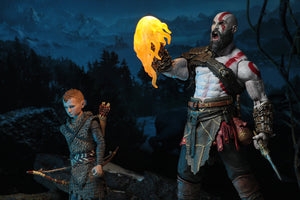 NECA God of War (2018) – 7″ Scale Action Figure – Ultimate Kratos & Atreus 2-Pack