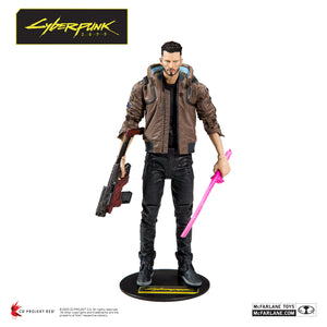 "Cyberpunk 2077 - Male V 7"" Scale Action Figure -"