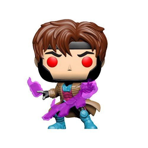 Funko POP! - Marvel - Gambit Glow in the Dark EE Exclusive Vinyl Figure