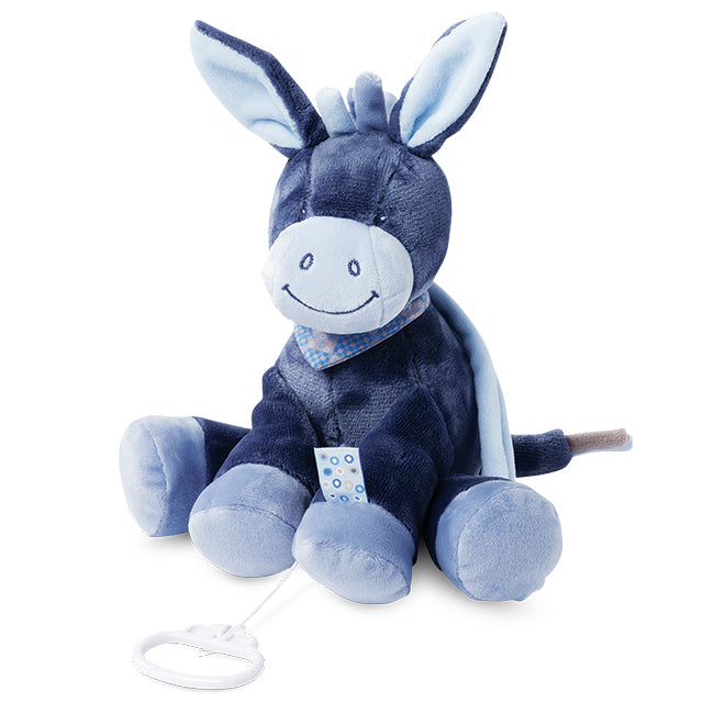 Nattou Doudou Musical Alex The Donkey | Nattou | Baby Little Planet Store Hoppers Crossing