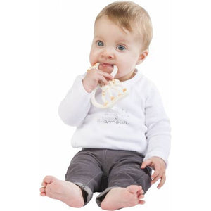 So Pure Teething Ring Soft-Feeding - Teether-Sophie | Baby Little Planet