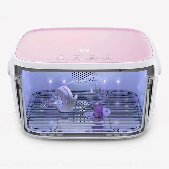MULTI-PURPOSE UV STERILISATION CABINET - Pink | 59S | Baby Little Planet Hoppers Crossing