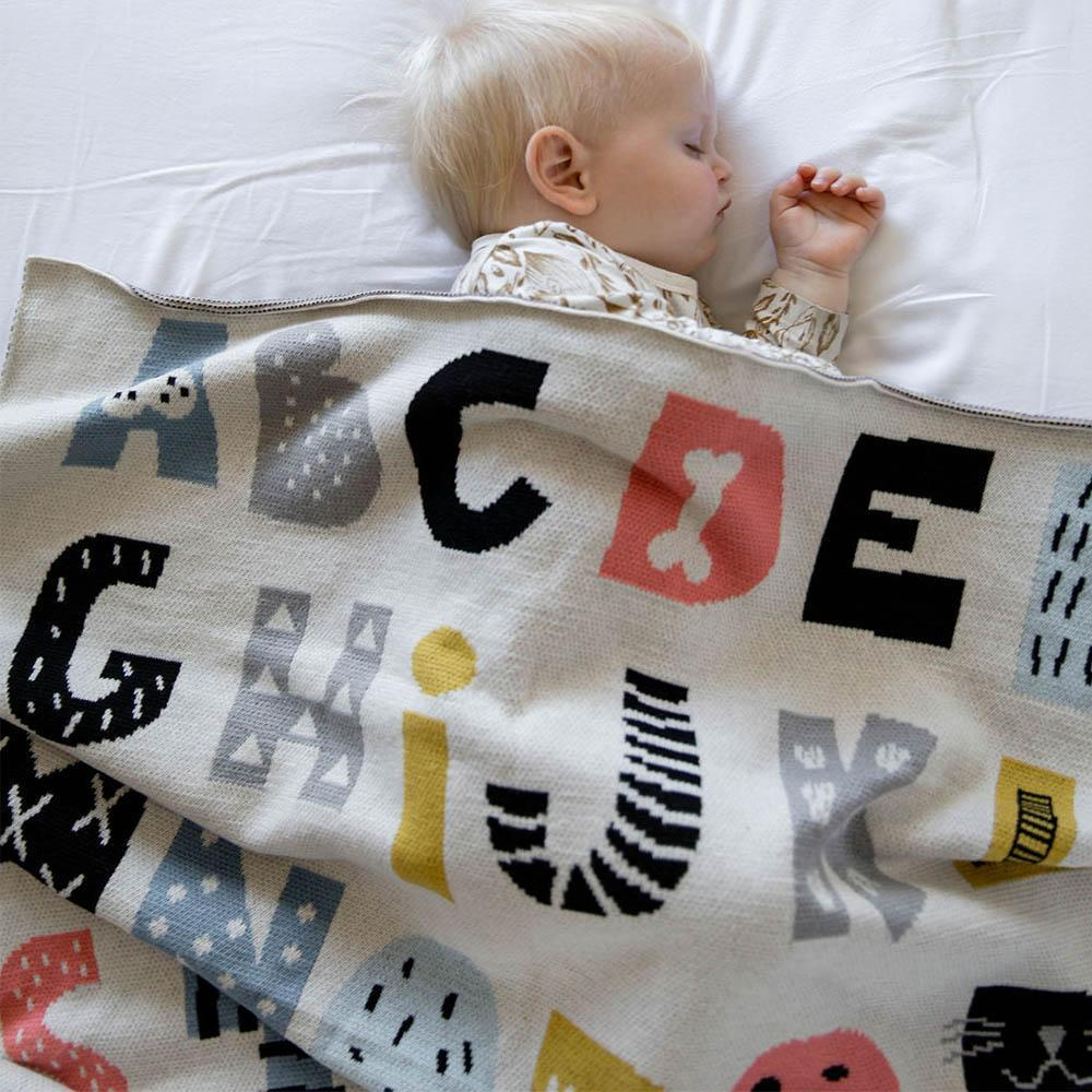 Di Lusso Living Baby Blanket-Bedtime - Blankets-Baby Little Planet