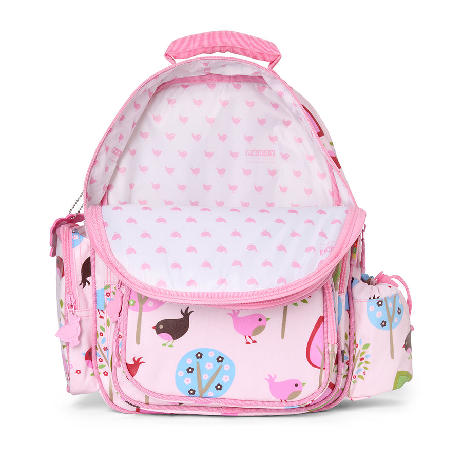 BabyLittlePlanet Penny Scallan Large Backpack Chirpy Bird